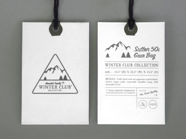 Herschel Supply Co Winter Club – Branding on Behance