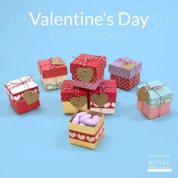 Valentine's Day DIY : Gift Boxes! « The Daily Design by Koyal Wholesale