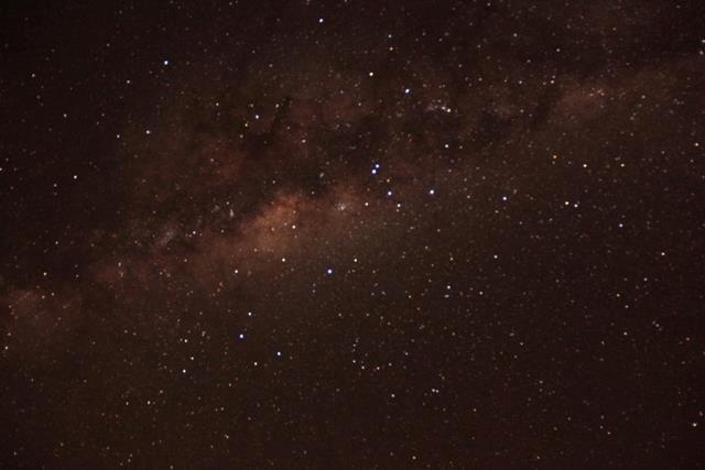 Star gazing at Planet Baobab fly camp...wow!