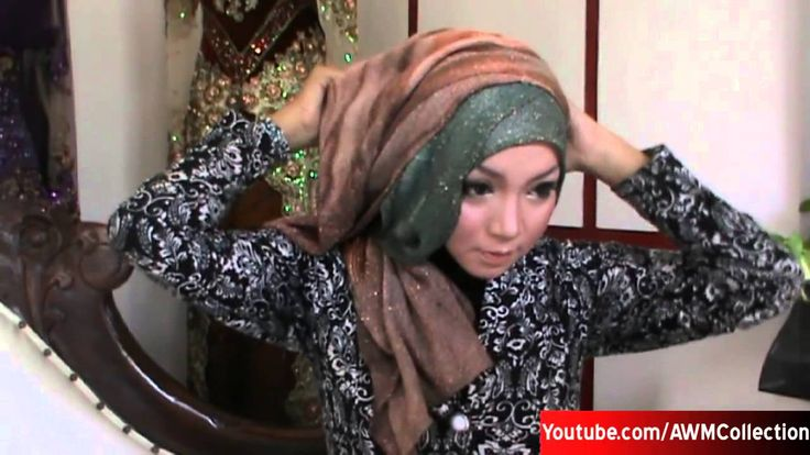 Ramadhan 2015 Tutorial Hijab Pesta Modern dan Simple