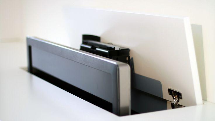 31 geselecteerde idee n over tv meubels met tv lift door for Tv meubel kleine ruimte