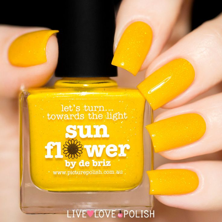 Yellow Nail Polish On: 25+ Best Ideas About Yellow Nail Polish On Pinterest