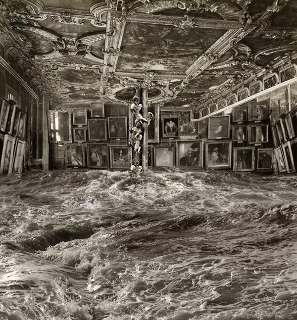 Marlborough Gallery - 3/28/13-4/27/13 - Pablo Genoves:  Precipitados - Time's Alchemy - Angeles Caídos (Fallen Angles)