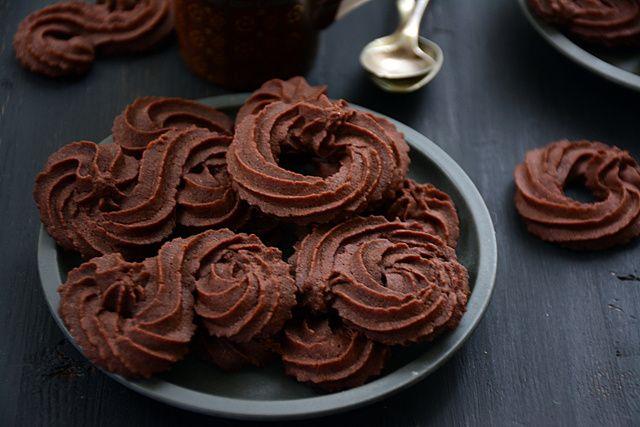 Dán csokis keksz