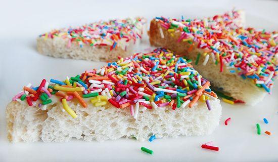 Волшебный хлеб (Fairy Bread)