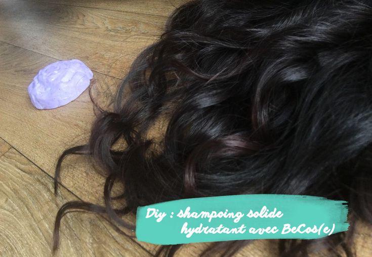 Ma recette d'un shampoing solide hydratant en collaboration avec BeCos[E].