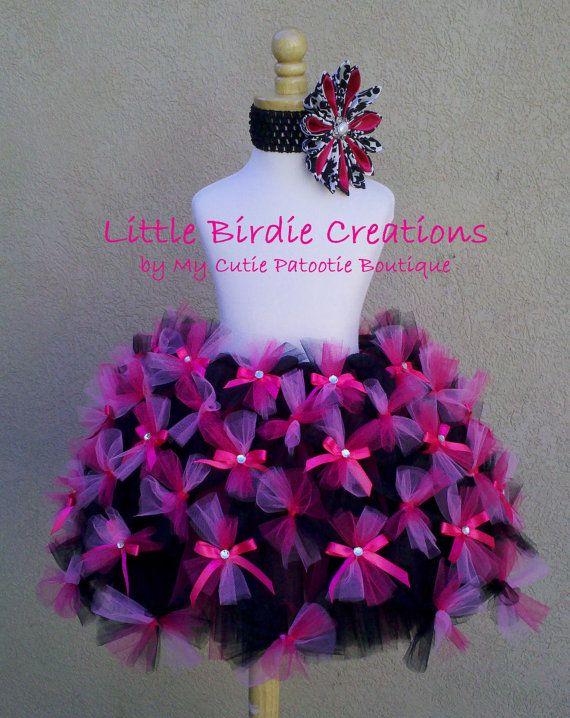 Sweet Lolita Tutu.CLEARANCE Hot Pink and by LittleBirdiebyMCPB