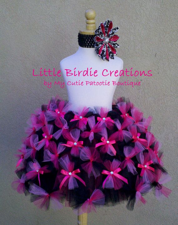 Sweet Lolita Tutu.CLEARANCE Hot Pink and by LittleBirdiebyMCPB