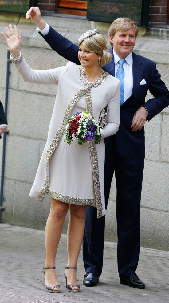 King Willem-Alexander and Queen Maxima 5/28/2013