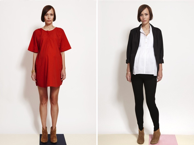 a beautiful new collection of maternity clothing from london