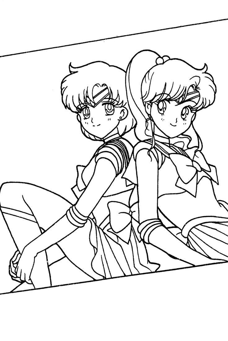 click to see printable version of jupiter coloring page. sailor moon ...