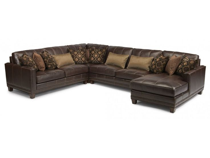 Good In By Flexsteel In San Marcos Tx Port Royal Leather Sectional With  Furniture Stores San Marcos