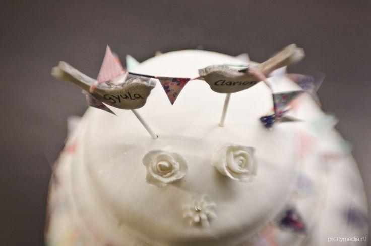 Weddingcake lovebirds3