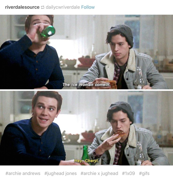 Riverdale ❤️ Archie and Jughead (Jugheads face thou)