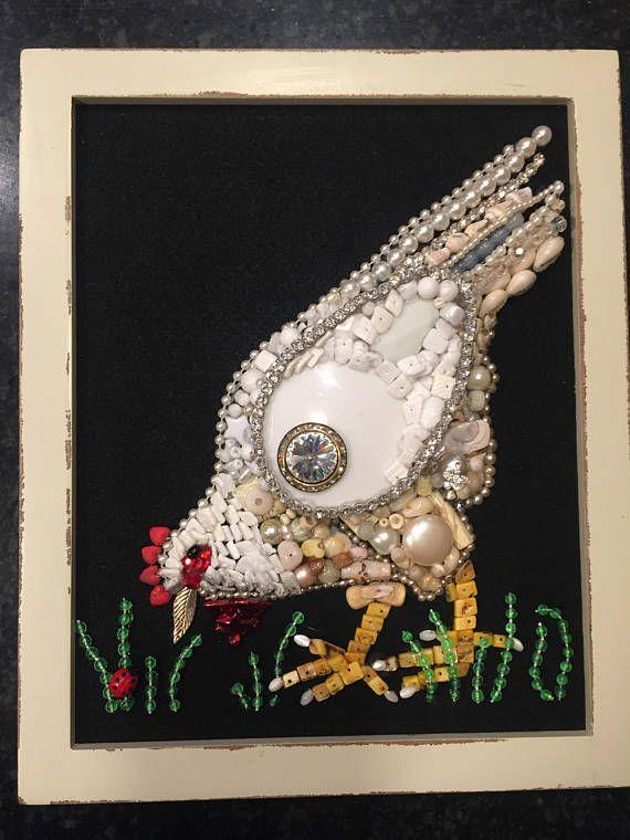 Jewelry Wall Art Framed Jewelry Art Jewelry Pictures Jewelry Etsy Jewelry Wall Vintage Jewelry Crafts Vintage Jewelry Art
