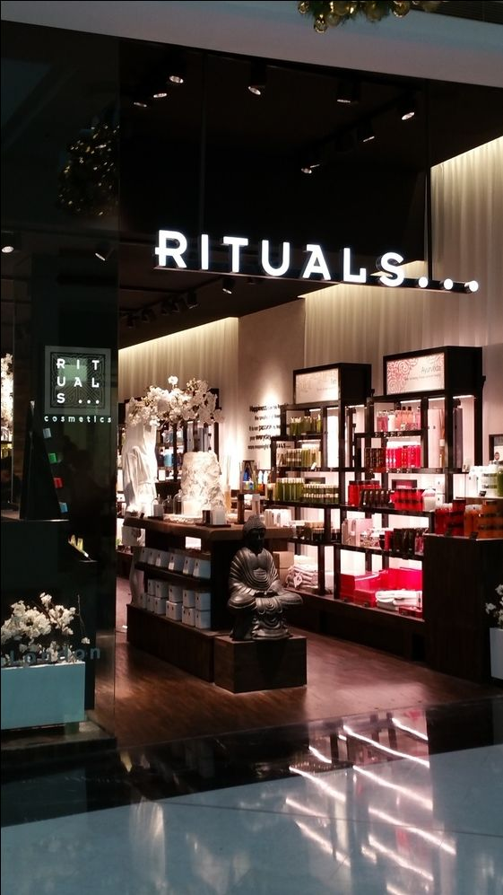 The beautiful Rituals ❤ Cosmetics, Parramatta Westfield Sydney Australia… #AtHomeWithRitualsContesr