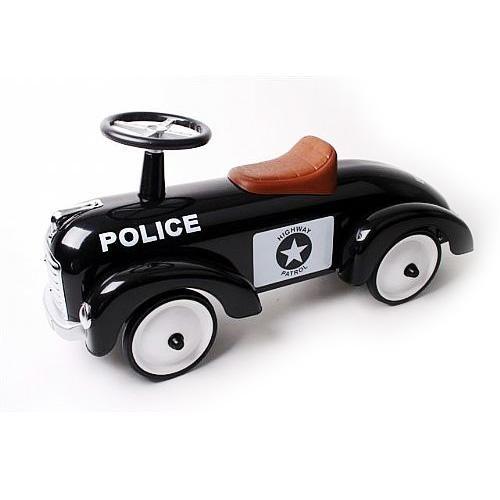 Gåbil Police Speedster med brun sits