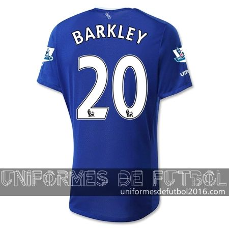 Venta de Jersey local para uniforme del Everton BARKLEY 2015-16