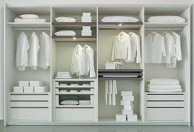 walk-in wardrobe SYSTEM 360° Olivieri