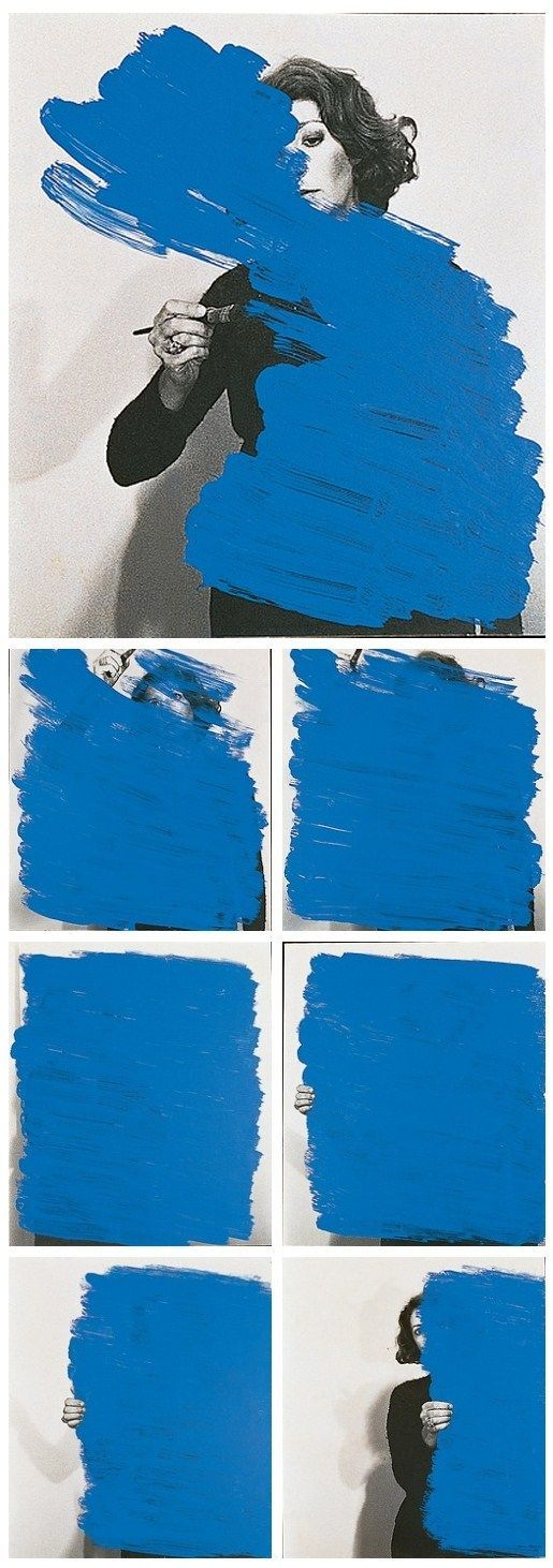 Helena Almeida Pintura Habitada, 1976 Fotografia Tinta acrílica e Fotografia…