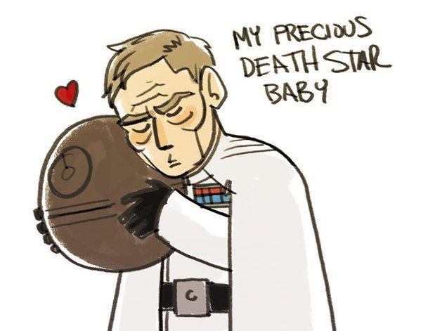 Rogue One's Director Krennic loves his Death Star in this delightful cartoon