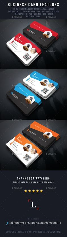 Photography Business Card Template PSD #design Download: http://graphicriver.net/item/photography-business-card/14057787?ref=ksioks