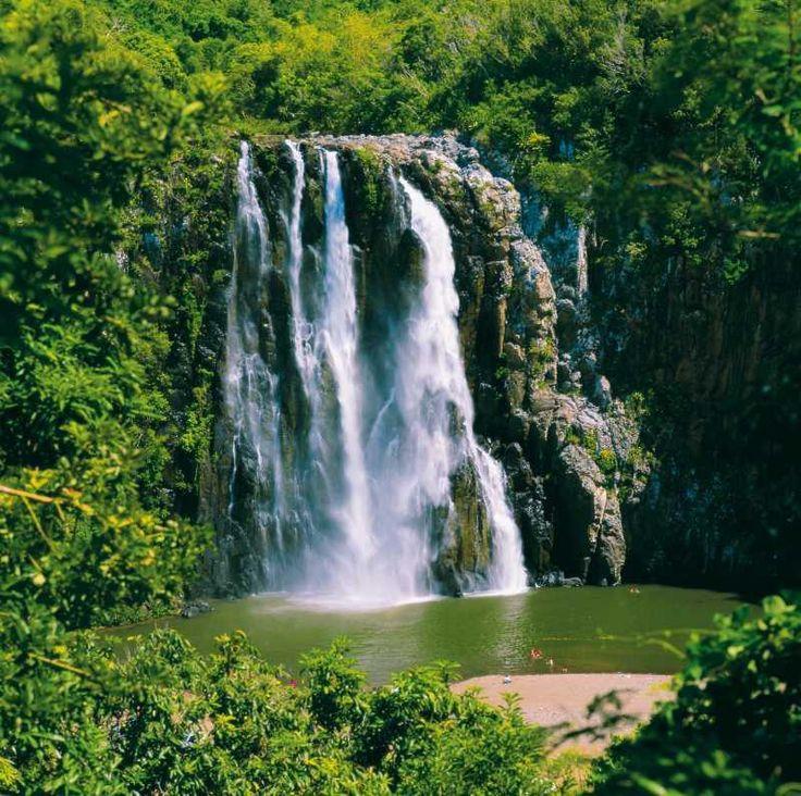 Cascade Niagara, à l'île de La Réunion