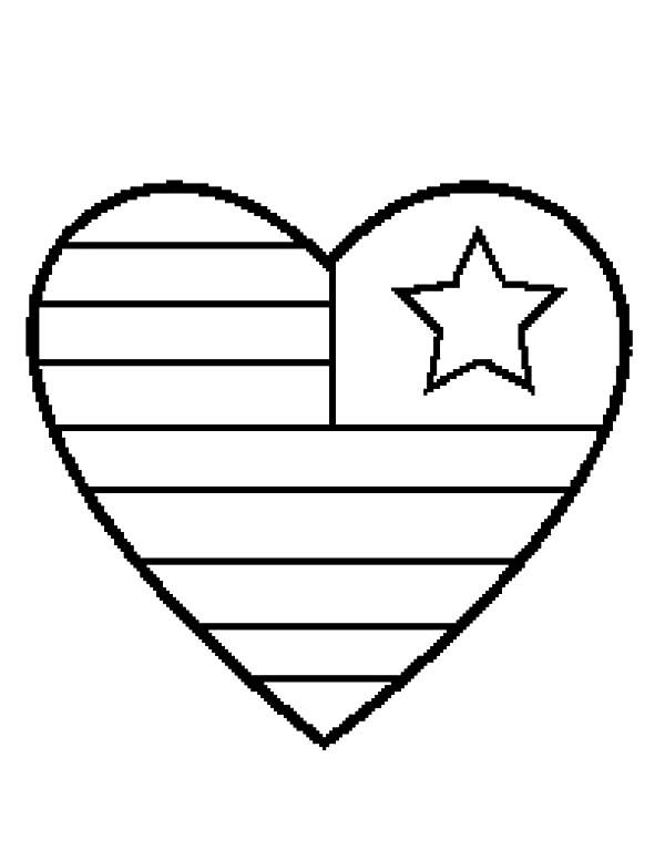 Pin By Elizabeth Day On Summer Ideas Heart Coloring Pages