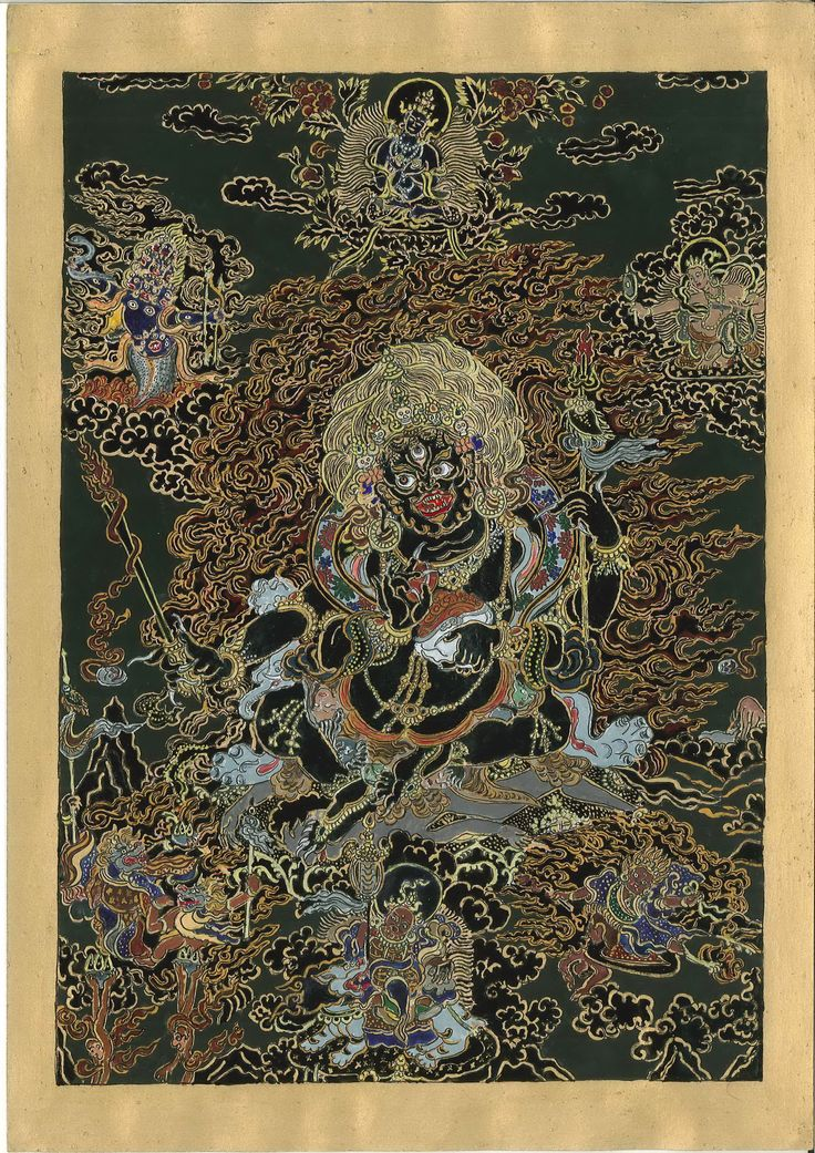 Mahakala with his retinue (started : beginning of August 2014, with Mars in Scorpio, finished 7th November 2014 - Mars in Capricorn  http://www.youtube.com/watch?v=J_EA7m15Lmg&NR=1&feature=endscreen