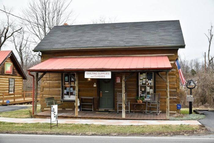 Kentucky S Largest Quilt Store Cabin Arts Quilt Shop Is Truly A Sight To See Cabin Art Quilt Shop My Old Kentucky Home