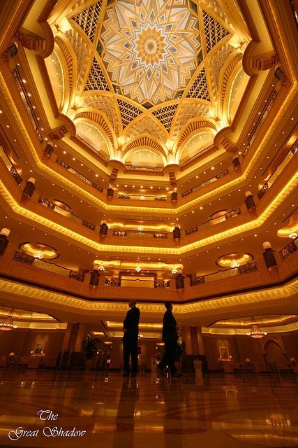 Emirates Palace Hotel, Abu Dhabi, United Arab Emirates. Photo by: The Great Shadow/SSKgraphy via Flicker.