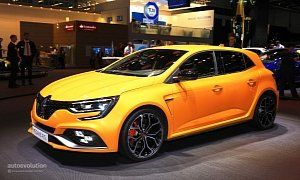 2018 Renault Megane RS Is The Best Hot Hatchback At IAA 2017 :  From the trademark Renault Sport fog lights to the R.S. badge under the front grille ornament and the flared wheel arches everything oozes go-faster prowess. And as it happens the 2018 Renault Megane RS is far more capable than the  previous model   despite the fact it comes exclusively with five doors.  The engine is an all-new design the 1.8 TCe that made its debut in the mid-engine  Alpine A110  sports car. In the case of the…