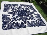 Hawaiian fern quilt
