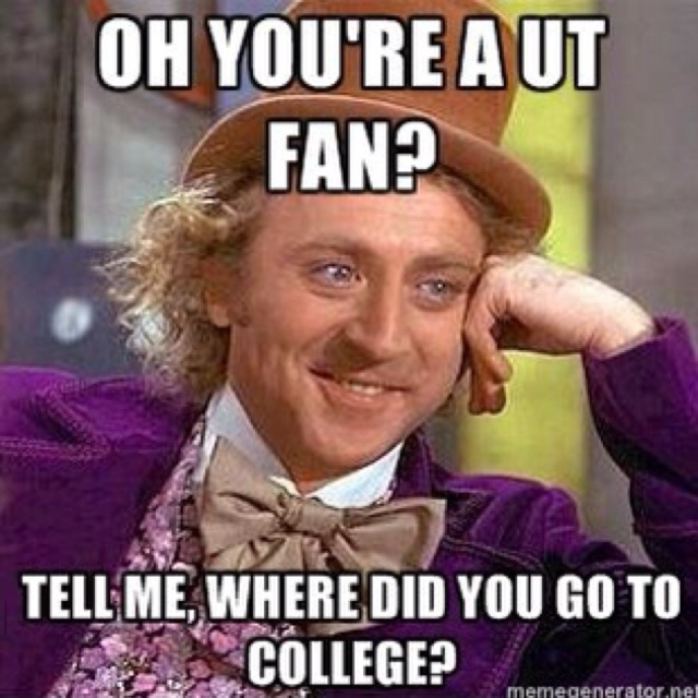 No really, where did you go to college?