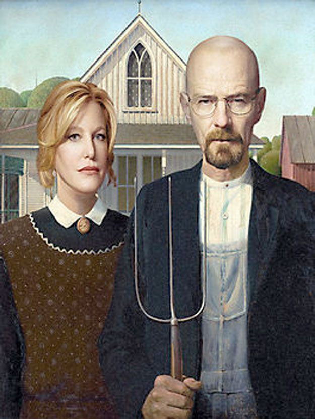 Breaking Badian Gothic 2 | 36 Pop Cultural Reinventions Of The American Gothic Painting