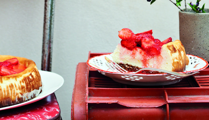 Bill Granger's Baked Ricotta Cheesecake