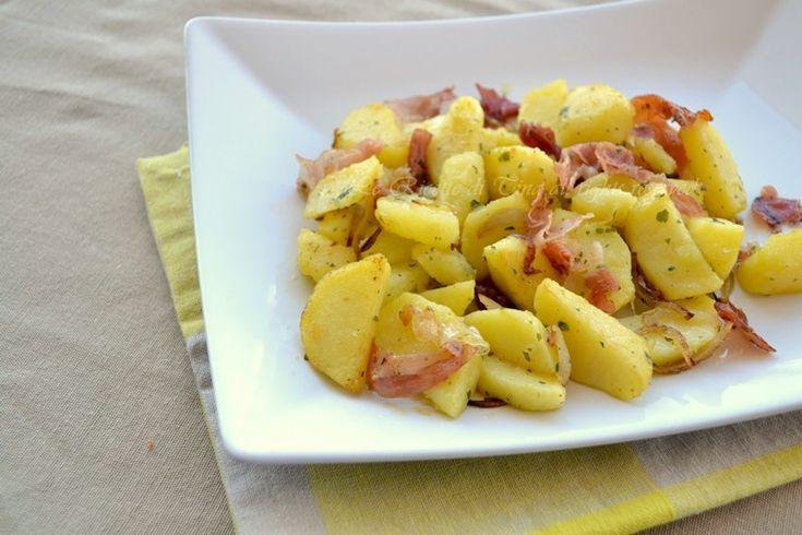 Patate e speck contorno semplice