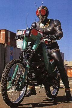 Kamen rider black Battle Hooper