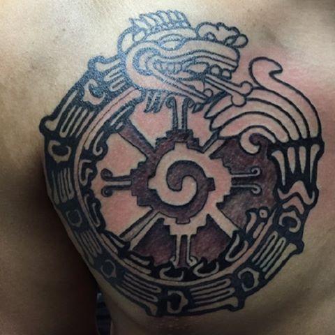 Quetzalcoatl Aztec Tattoo