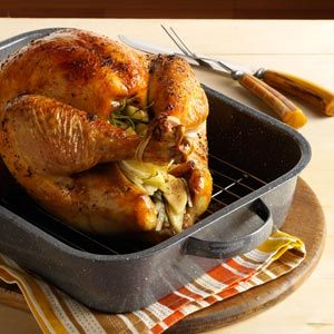 If you're making your first Thanksgiving turkey or just need a refresher on the basics, we're sharing easy step-by-step instructions for how to cook a turkey from start to finish, including a roasting chart with cooking times for every size of bird.