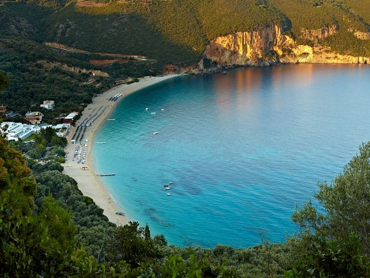 7 magical seaside hotels in #Greece Lichnos Beach #Parga