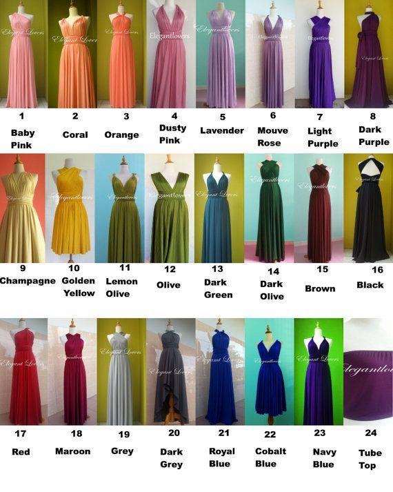 Robe de mariage robe demoiselles dhonneur par Elegantlovers sur Etsy