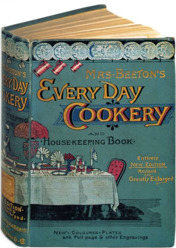 Vintage Mrs Beeton's Every Day Cookery. I now have my own vintage cookbook collection! In my colors!  -Lindsay