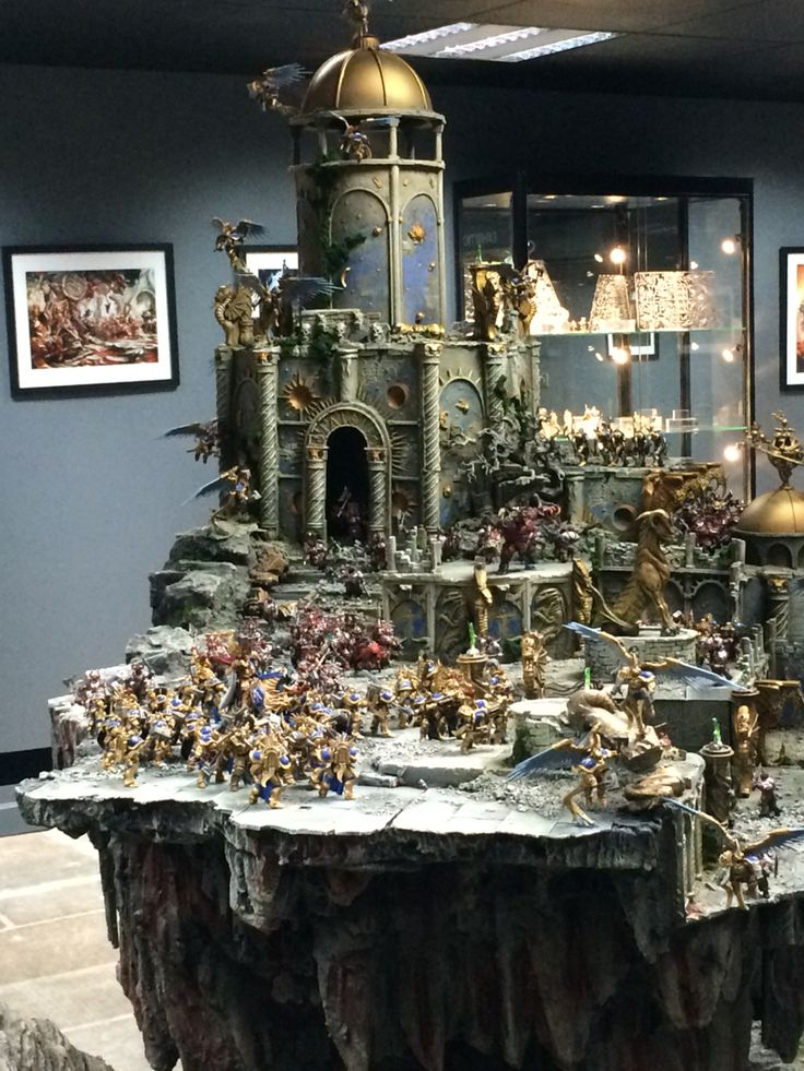 Age Of Sigmar Display Board Warhammer Pinterest