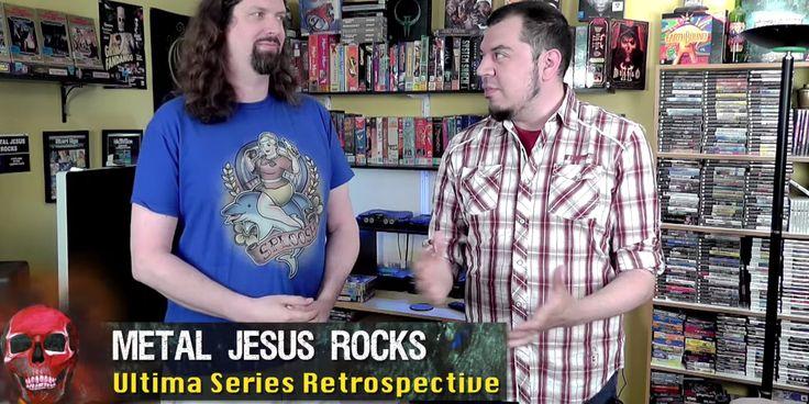 A video retrospective of the #Ultima series.  http://ultimacodex.com/2015/07/check-out-metaljesusrocks-ultima-retrospective-video/