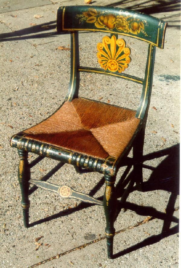 Price My Item: Value of Period American Federal painted country chair  c1810. Antique FurnitureFederal. How To Price Antique Furniture ... - How To Price Antique Furniture Antique Furniture