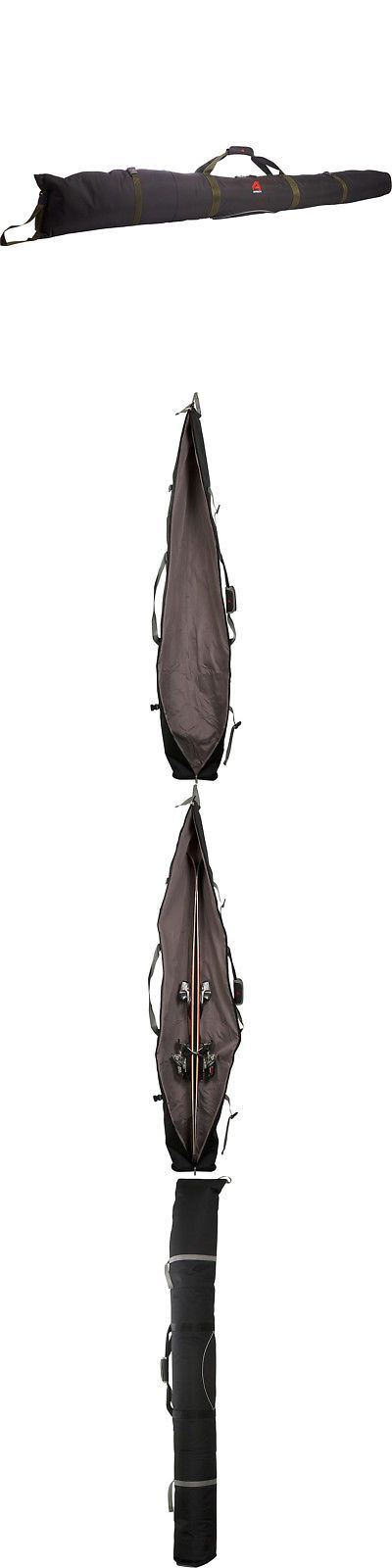 Bags and Backpacks 21229: Athalon Single Ski Bag - Padded - 180Cm 3 Colors Ski And Snowboard Bag New -> BUY IT NOW ONLY: $128.99 on eBay!