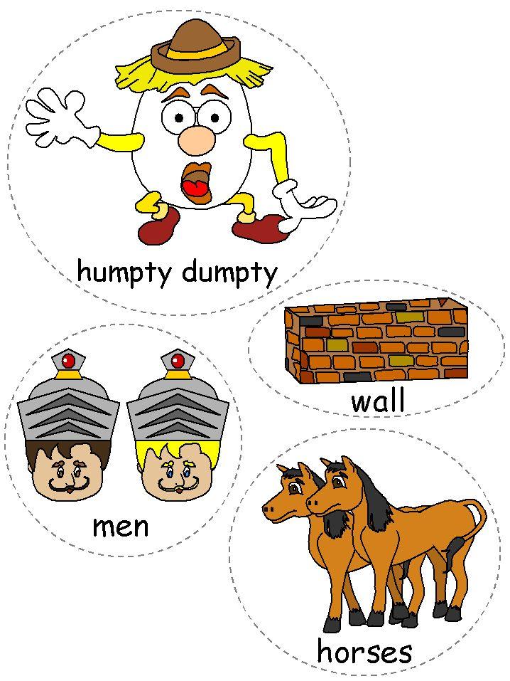 Template Humpty Dumpty Pinterest Humpty Dumpty