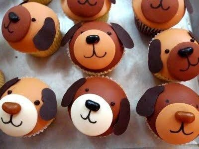 """pupcakes! Taylor used to call cupcakes, """"pupcakes"""".  She wants a dog b-day party-these would be cute!"""