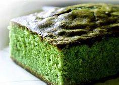 Bizcocho de té verde
